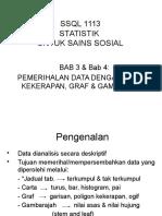 Bab 3 Pemerihalan Data Bab 4 Jadual Dan Graf