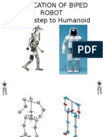Fabrication of BIPED- A First Step to HUMANIOD