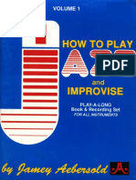 Vol 01 - [How to Play and Improvise Jazz]