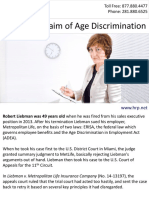 Fighting a Claim of Age Discrimination