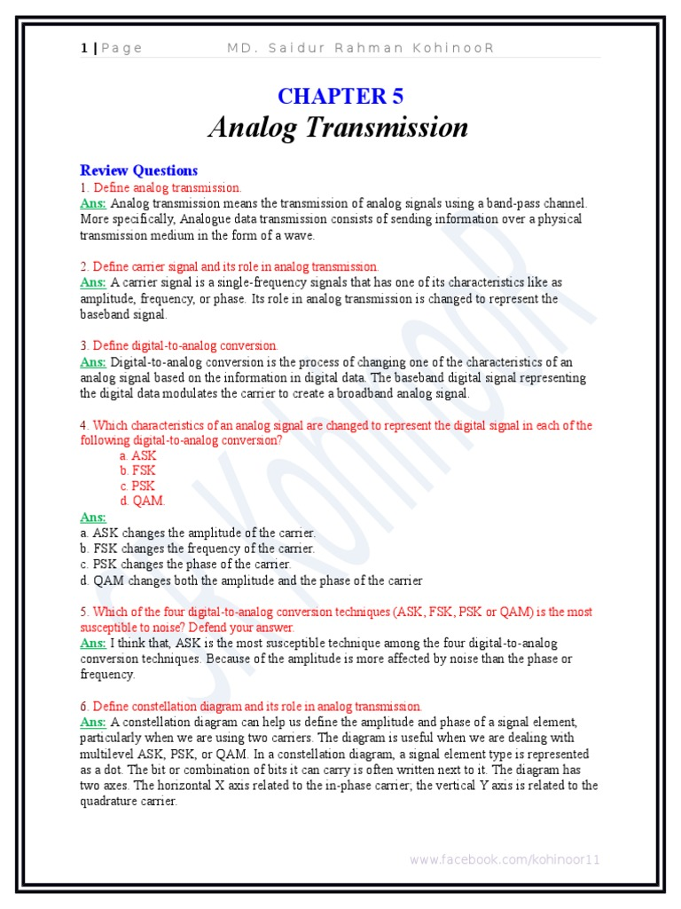 Chapter 5_Analog_Transmission   Modulation   Frequency