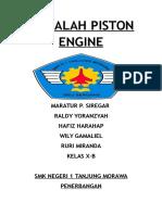 Makalah Piston Engine