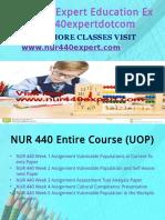 NUR 440 EXPERT Peer Educatordotcom