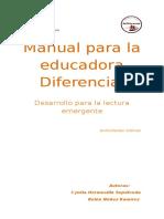 Manual Para La Educadora Diferencial