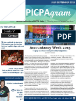 PICPAgram July-sept 2015 Edition