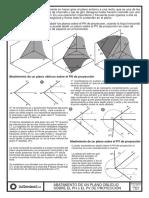 Tema 12- Sistema Diédrico Abatimientos