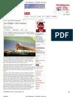 Zizek_New Statesman - Joe Public v the Volcano