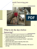 Farrowing Unit