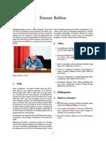 Balibar Español wikipedia