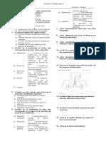 Examen de recuperación Biología