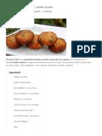 Aloo Tikki_ Polpette Di Patate