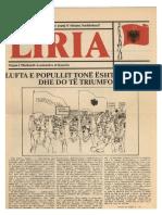 """""""Liria"""" Nr. 3 - maj 1981"""