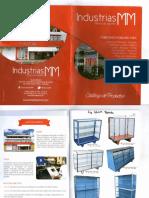Catálogo de Industrias MM, C. a.