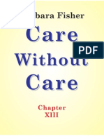 Care Without Care (Chapter XIII)