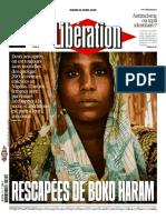 Libération Du Mardi 12 Avril 2016