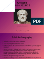 Aristotle, General Introduction