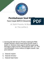 Pembahasan Fase Cepat Soal Mata Ingenio Desember 2014