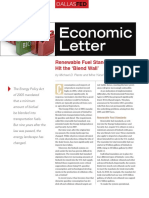 P1-14 Renewable Fuel Standards Hit the Blend Wall