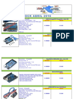Stock Abril - 2016