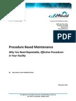 GP Allied Procedure Based Maintenance