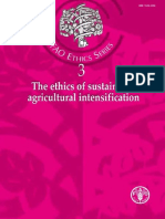 FAO, 2004. Ethics Agricultural Intensification