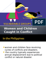 VULNERABLE GROUPS-women and Children Caught in Conflict