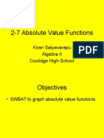2-7 absolute value functions