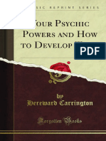 Your Psychic Powers and How to Develop Them 1000004593