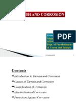 Tarnish & Corrosion
