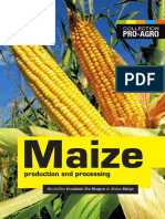 Maize Production and Processing