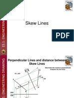 7 Skew Lines