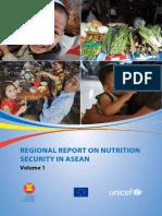 Regional Report on Nutrition Security in ASEAN Volume 1