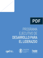 Programa Formación Para El Liderazgo
