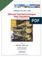 Heat Exchanger - Design of Tube-shell Type Heat Exchanger