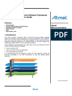Atmel 8431 8 And32 Bit Microcontrollers AVR4029 Atmel Software Framework User Guide Application Note