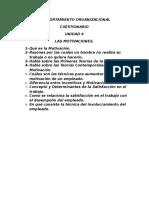 Cuestionario Unidades 6 a 10