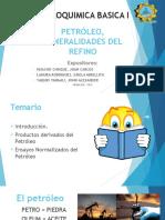 Petróleo, Generalidades Del Refino I