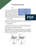 Procesos de Elaboracion de Jabon y Detergentes