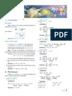 Ativ1-611 (Potenciação, Radiciação, Fatoração)