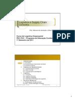 Logística e SCM Modo de Compatibilidade