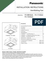 Fv 15vql6 Install