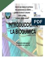 Introduccin a La Bioqumica
