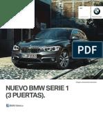 Ficha Tecnica BMW 120iA 3 Puertas Manual 2016