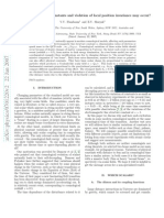 How Changing Physical Constants and Violation of Local Position In Variance May Occur