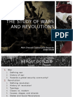 The Study of Wars and Revolutions