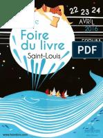Programme Foire Du Livre 2016 Saint-Louis