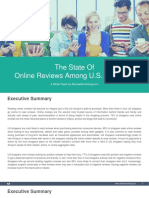 The State Of Online Reviews Among U.S. Shoppers