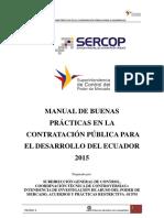 Manual de Buenas Prácticas en La Contratación Pública Versión 1 Opt