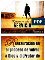 Restaurando tu servicio