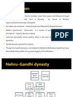 Indian Politics Are a Rule of Dynasties